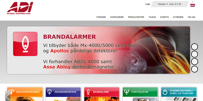 ADI Global web