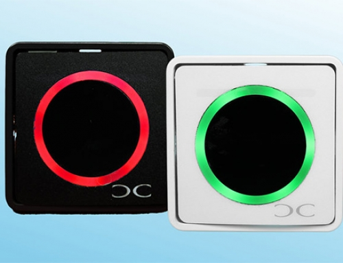 New Conlan touchless exit button